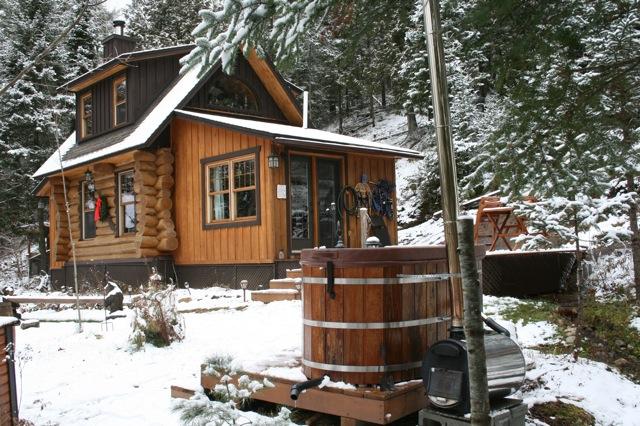 Log Cabin Rental Lone Wolf Cabin